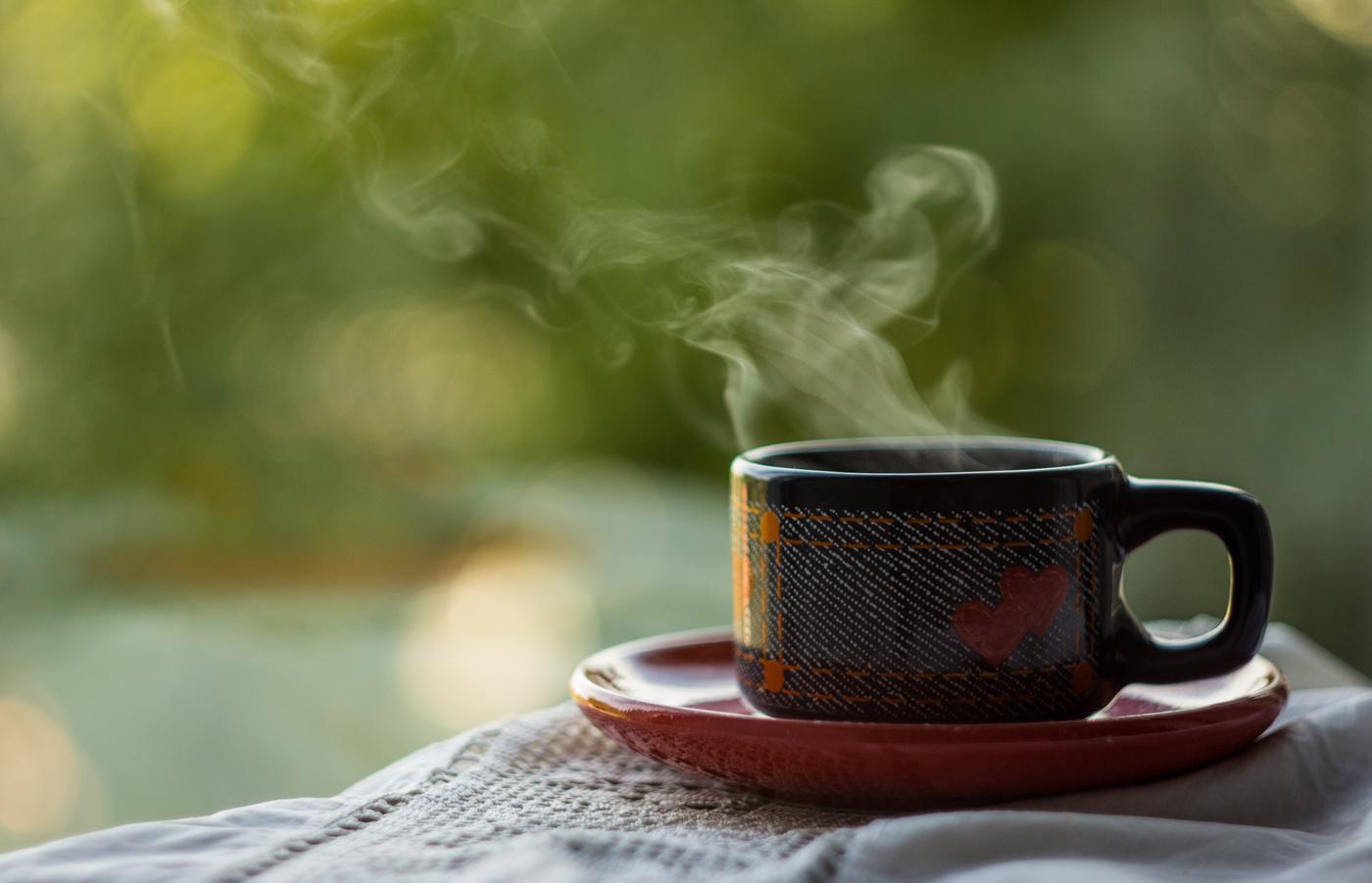 Картинка теплая чай
