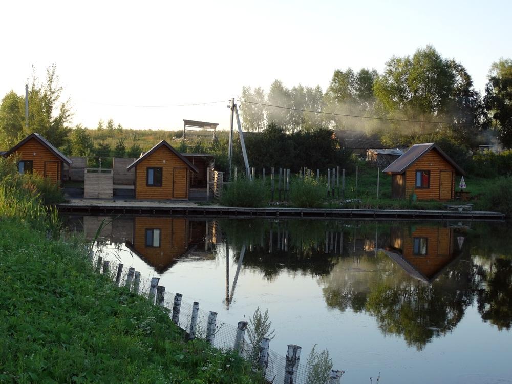 Рыбацкий дом картинка