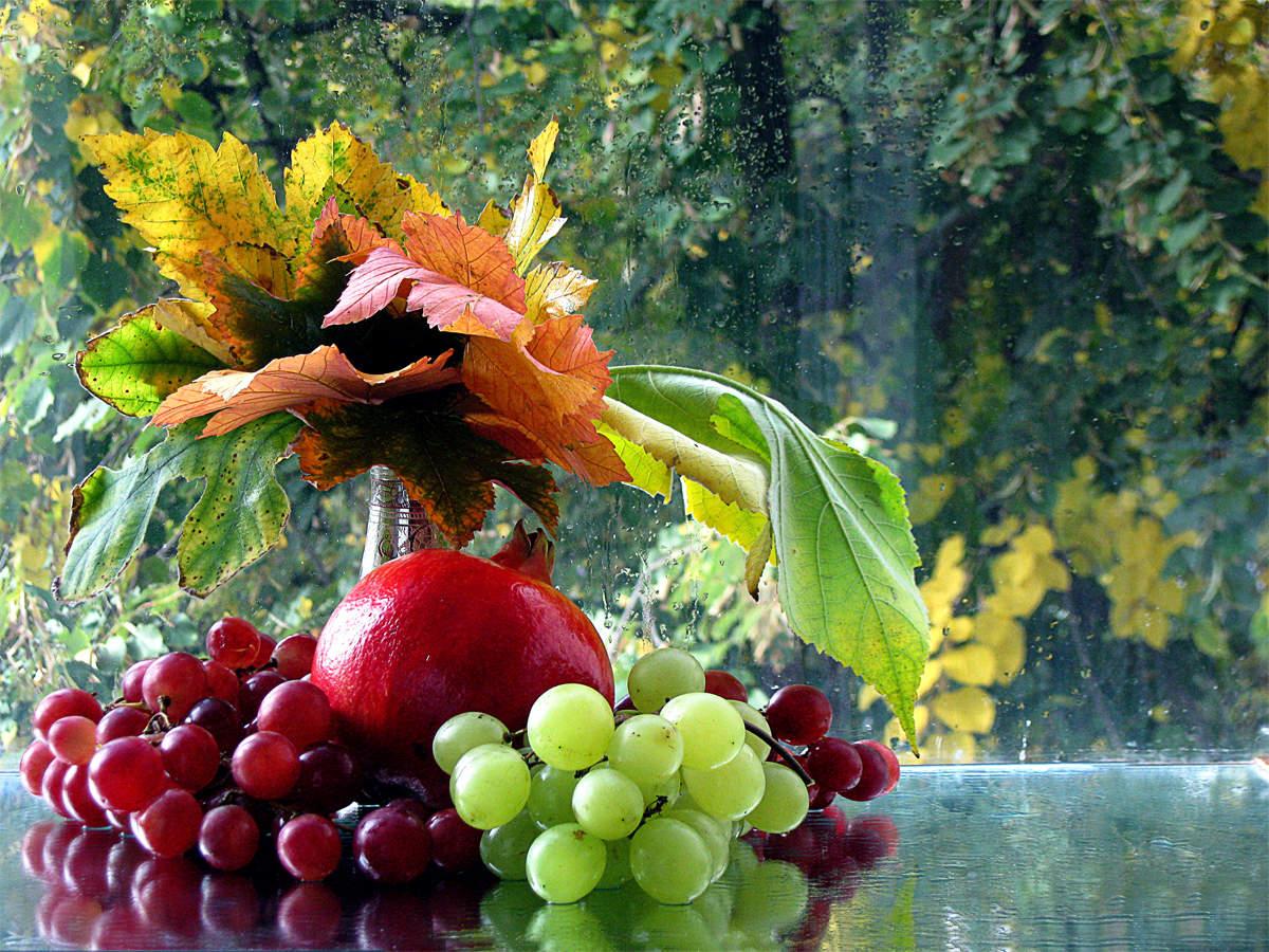 Картинки осень с фруктами