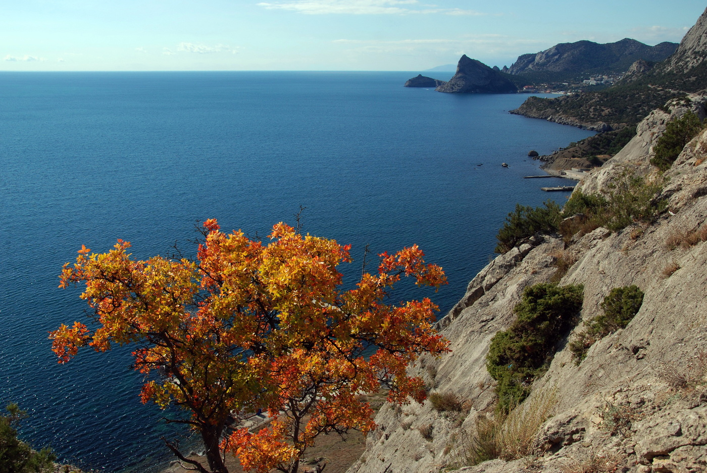 море крыма в октябре фото такие