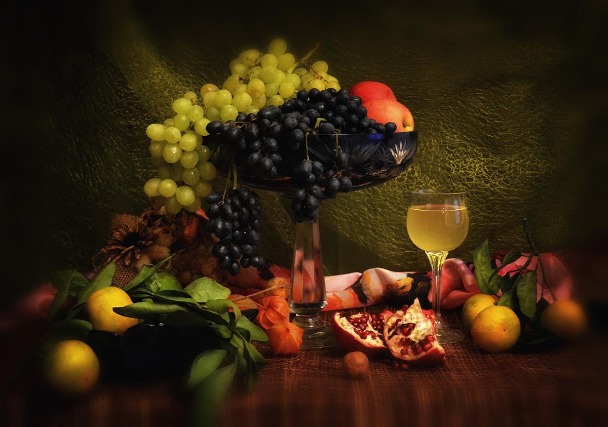 Фото винограда мускат розовый том