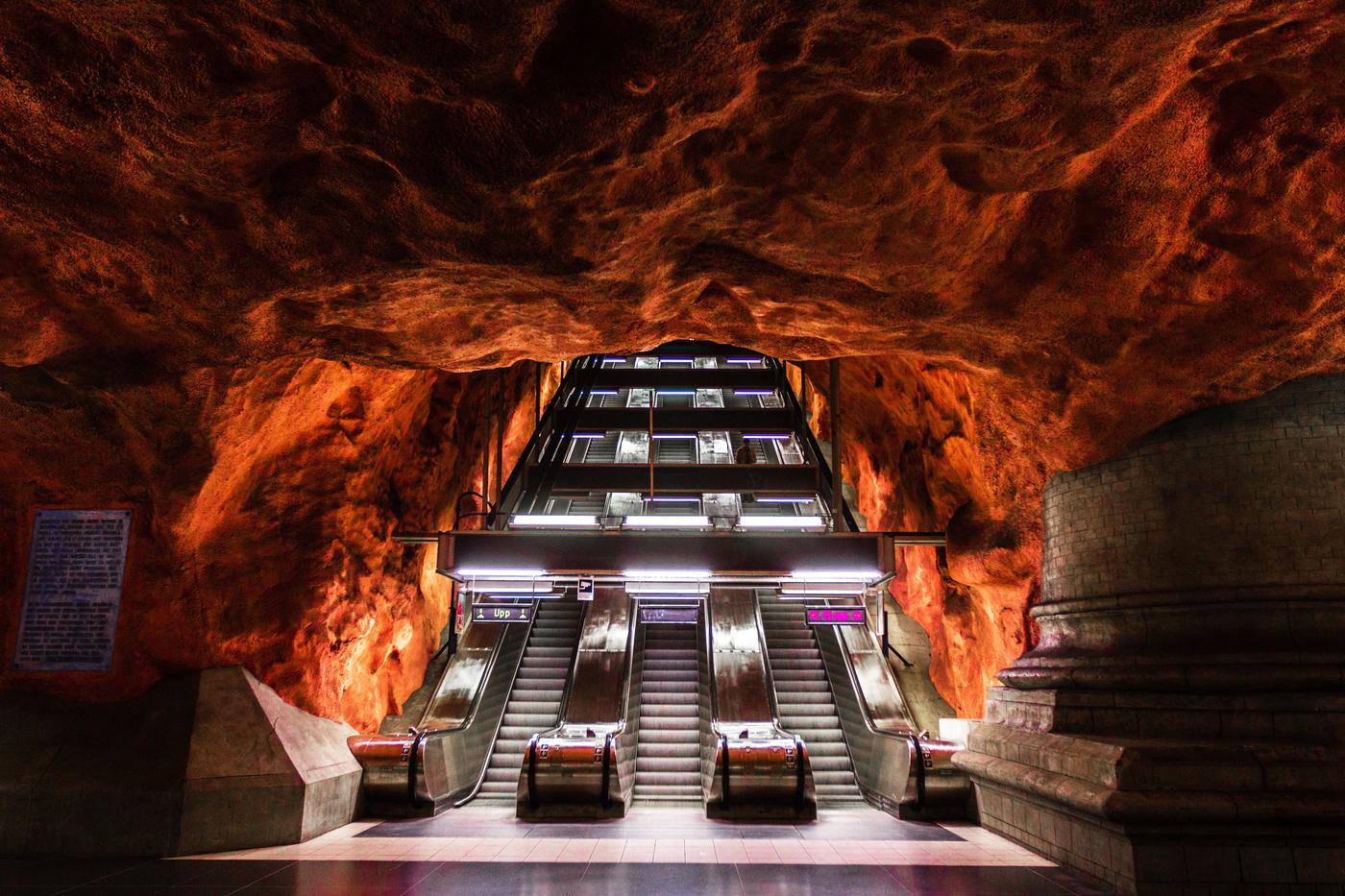 Стокгольм станция метро фото
