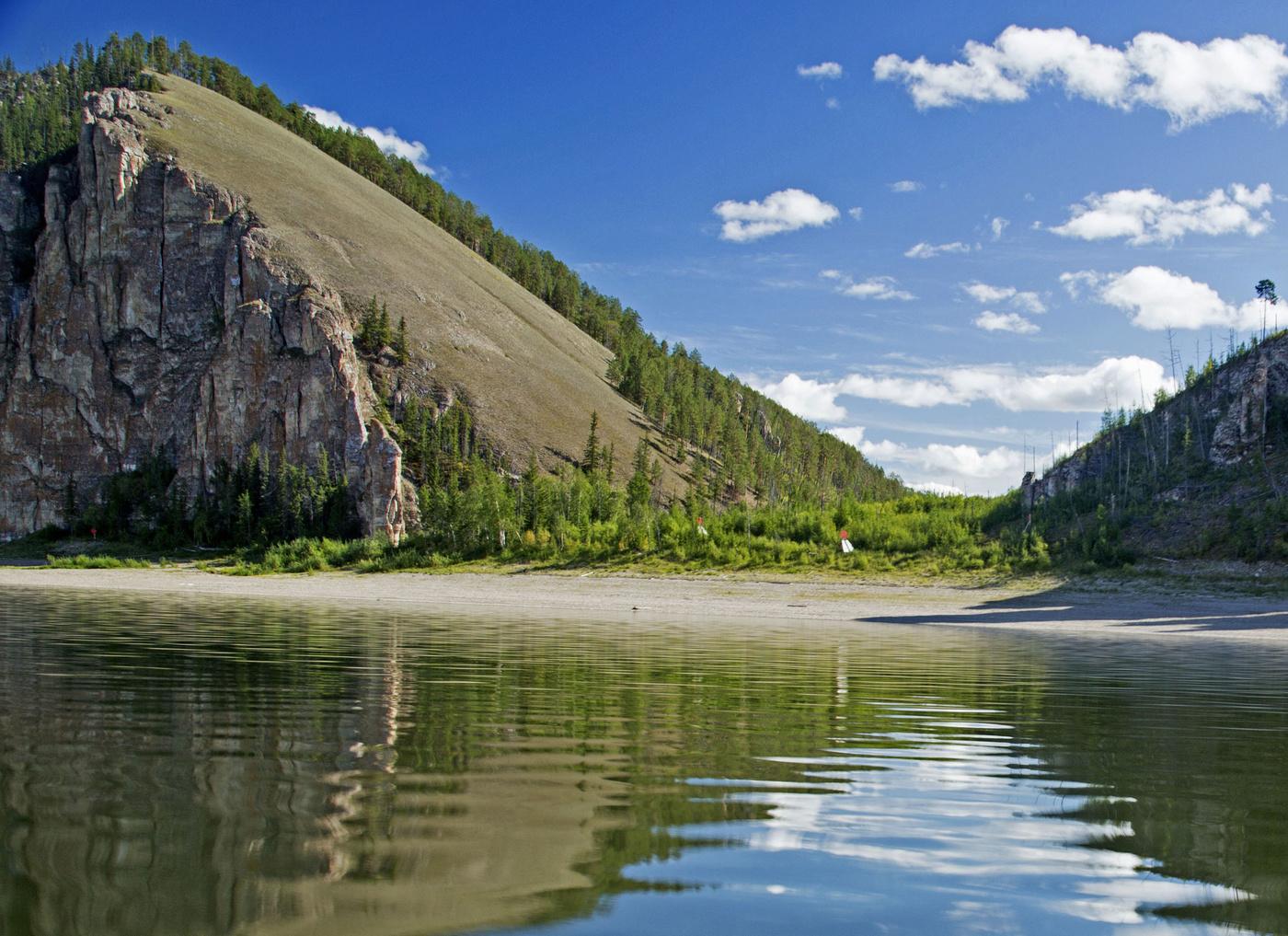 Река лена на картинке