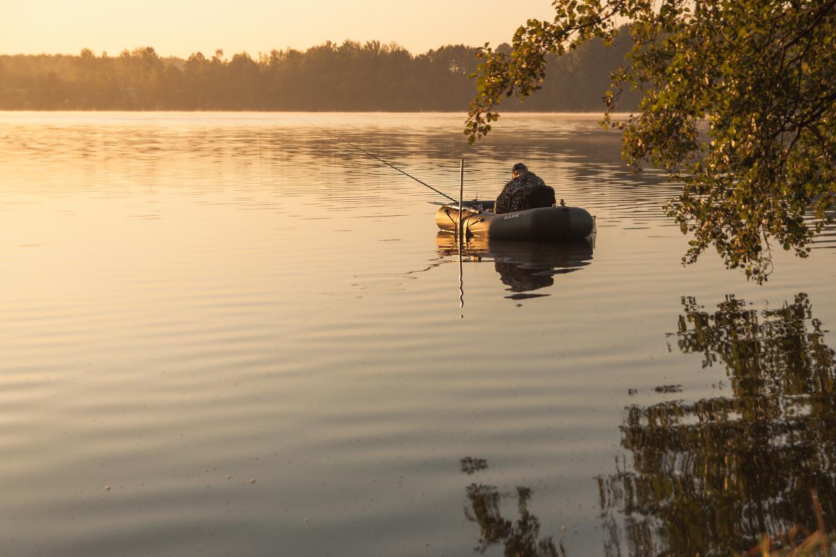 рыбалка на резиновой лодке картинки слизистой