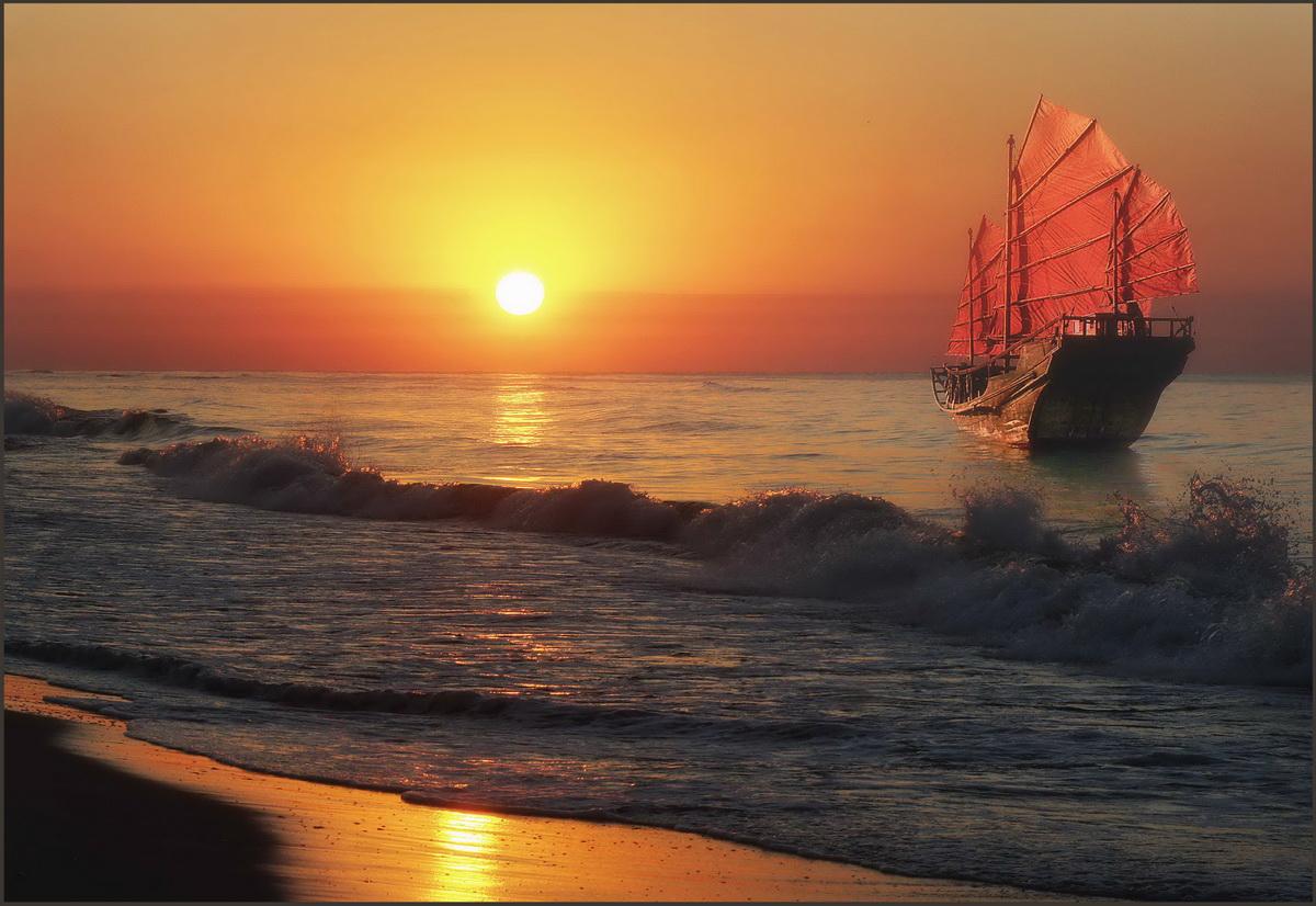 ранку фотографии кораблей на солнце нутрии отличается