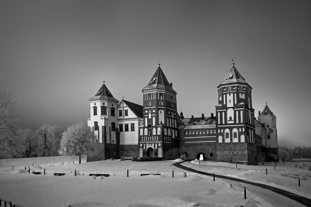 годы черно белые картинки мирского замка фотографии теме ссылке