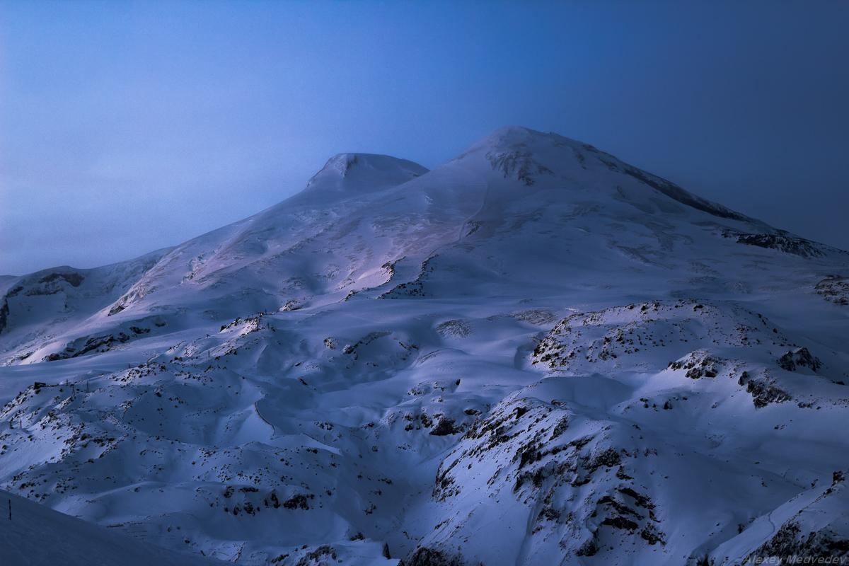 Картинки эльбруса зимой