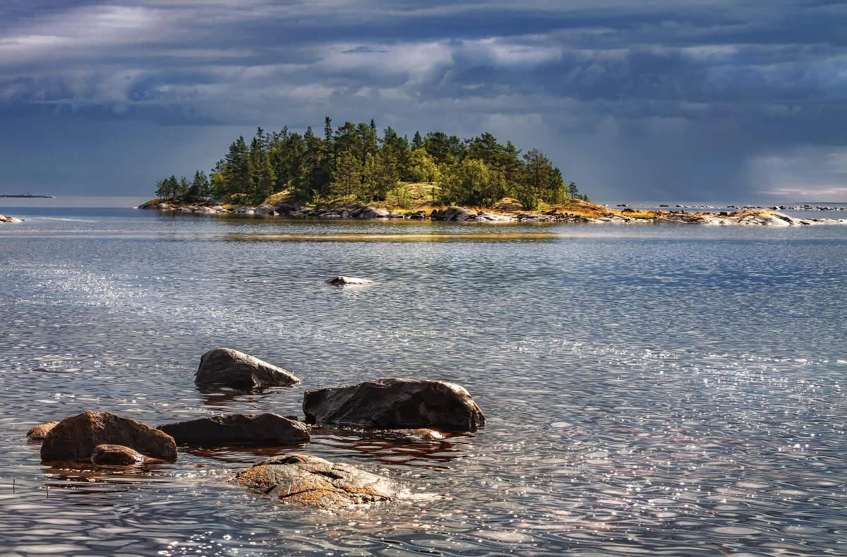 белое море фото летом том году