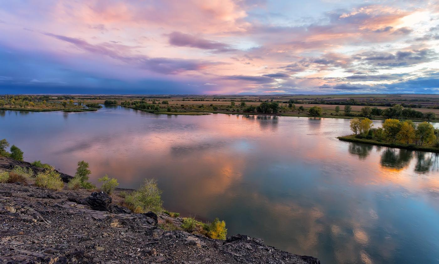 Фото реки иртыш в казахстане
