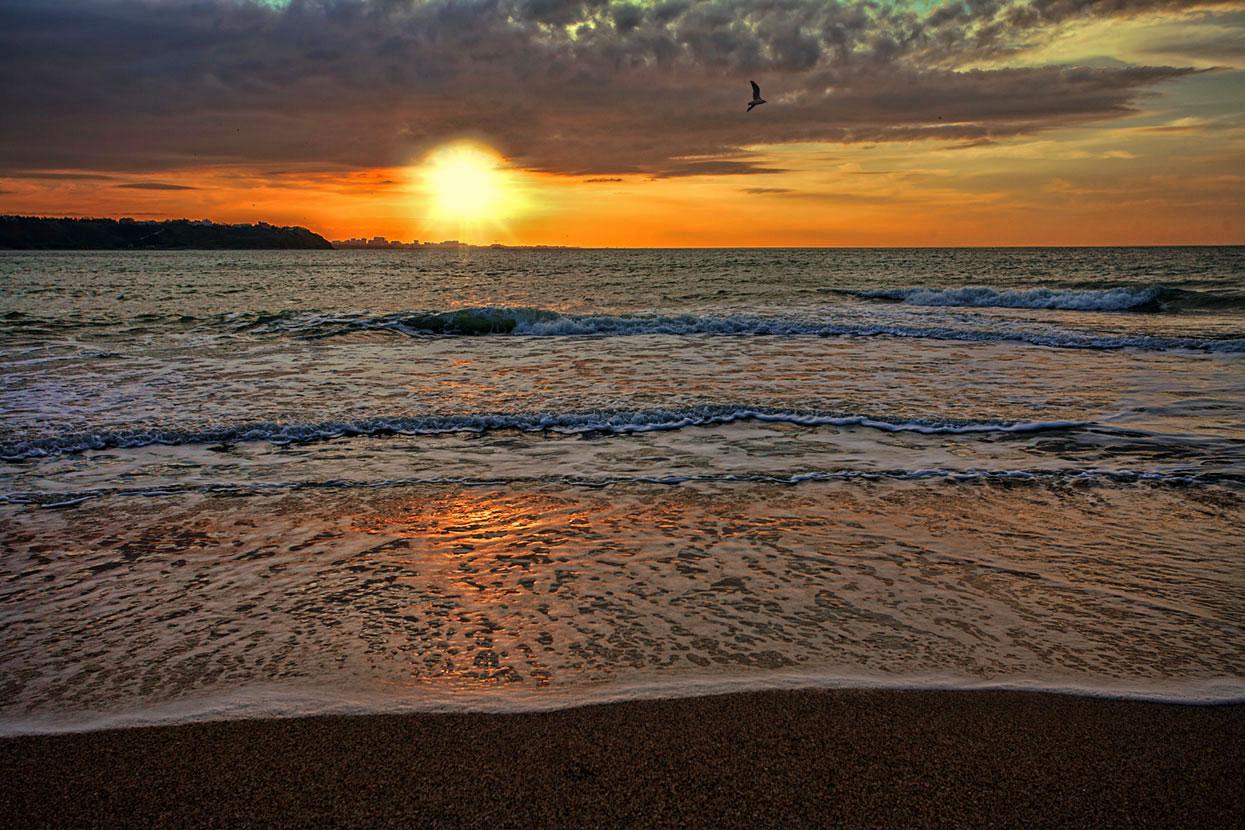 Фото вечернего моря