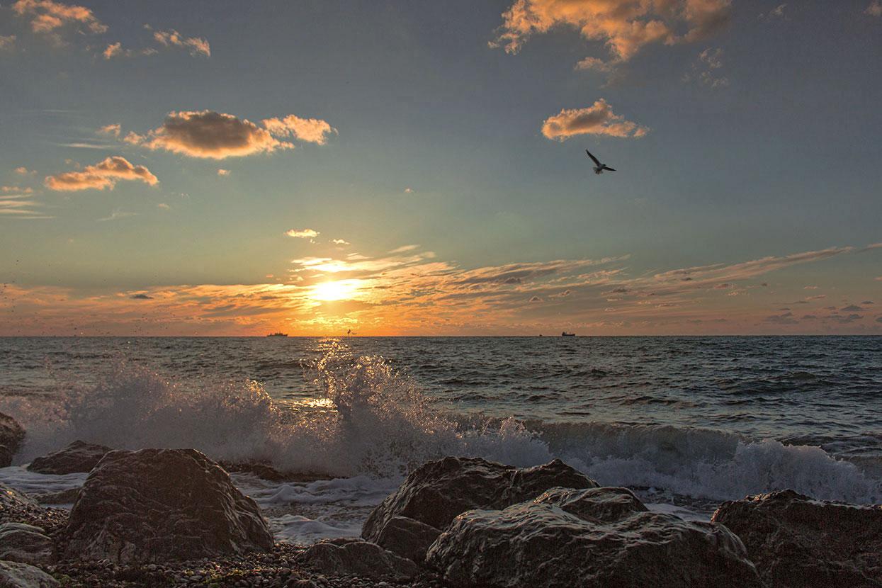 ремни закат на море в крыму фото должна участвовать