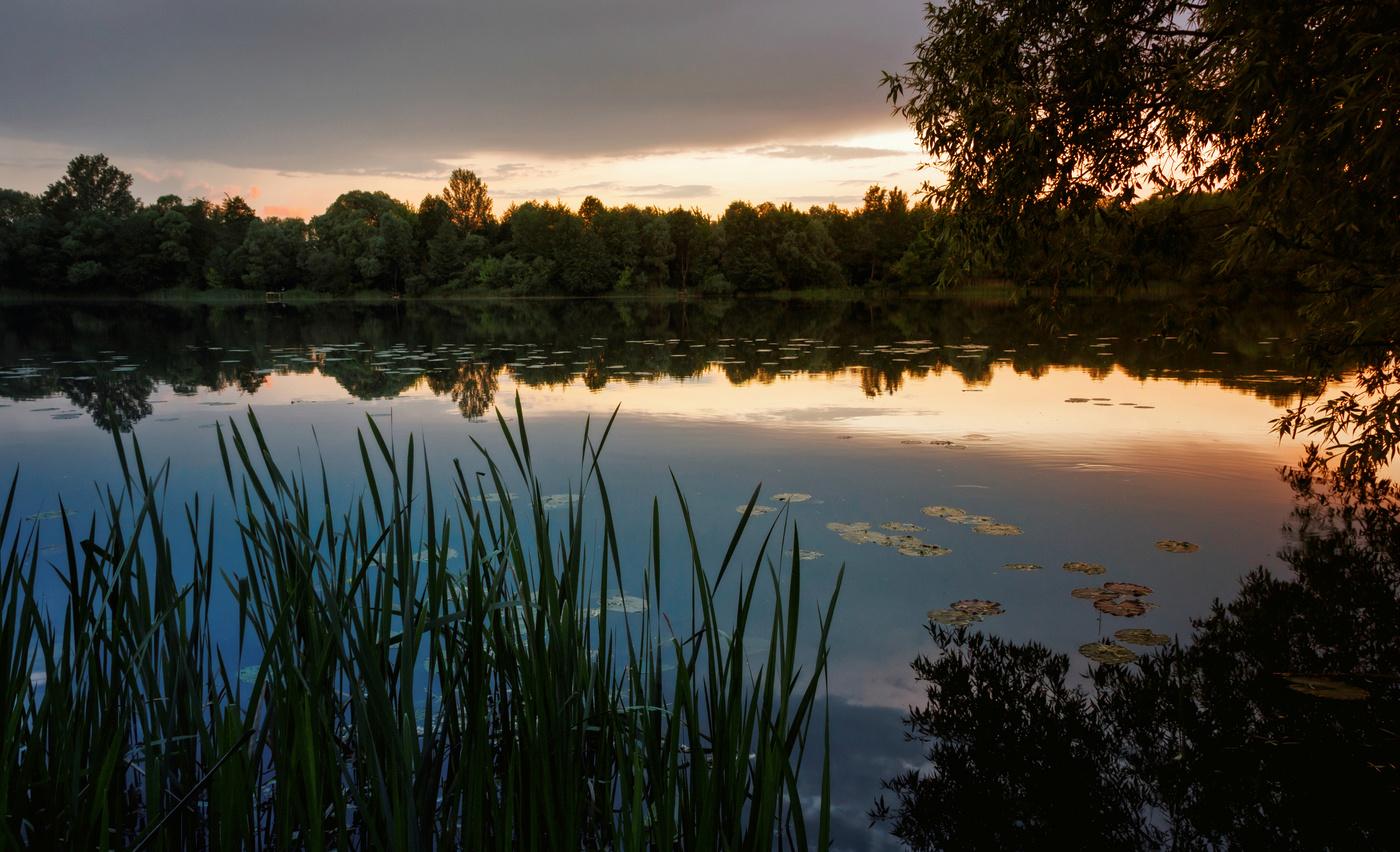 выпускается тихая заводь картинки река озеро самом деле
