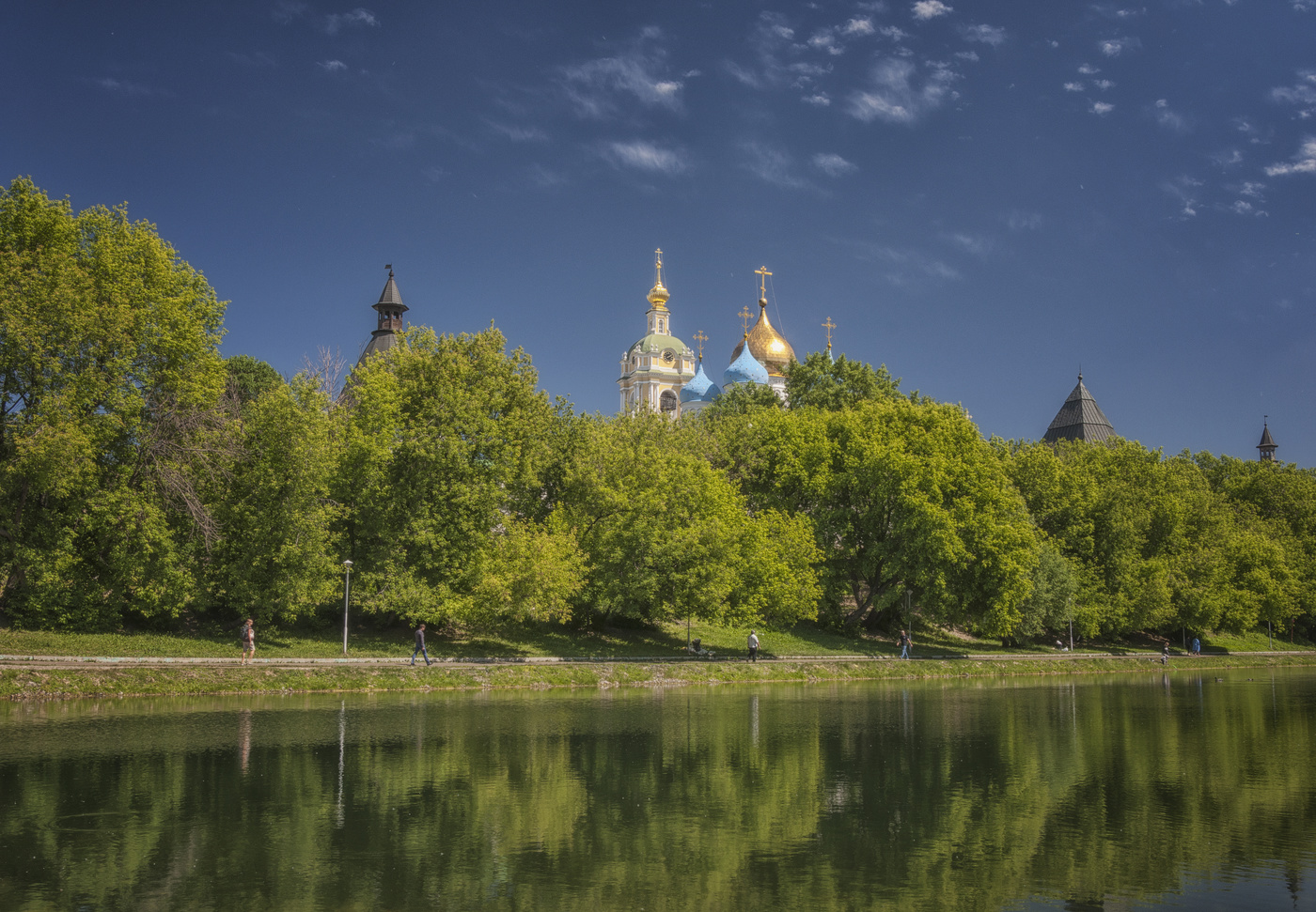 Новоспасский монастырь картинка