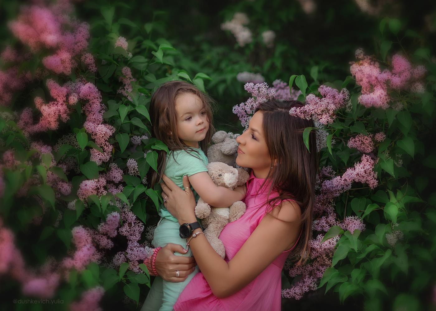 Картинка дочки матери, днем рождения