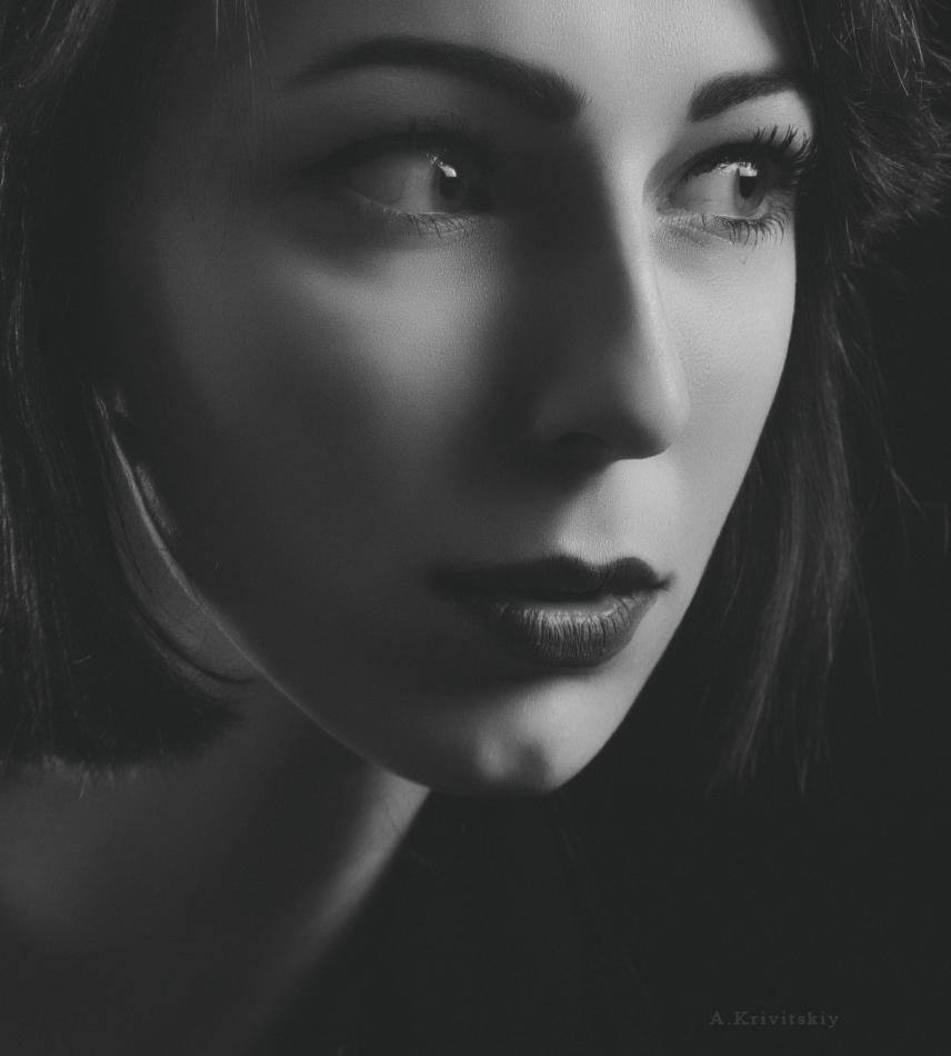 композиция портретная фотография робкой
