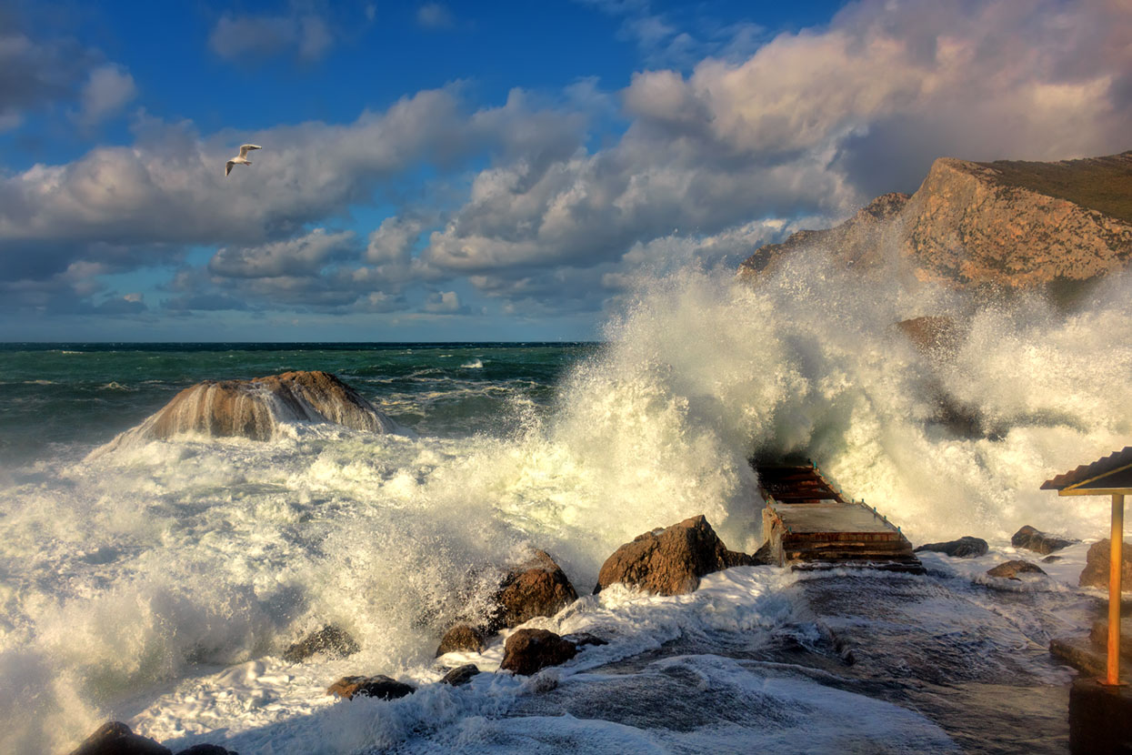 колеса картинки прибоя волн могут