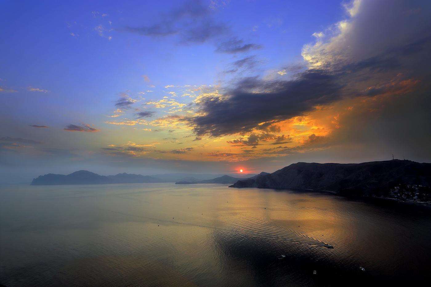 фото крым лето закаты и рассветы подборка, вот