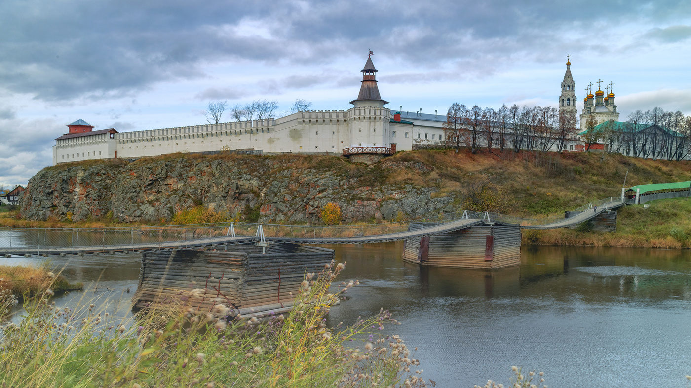 Фото города верхотурье