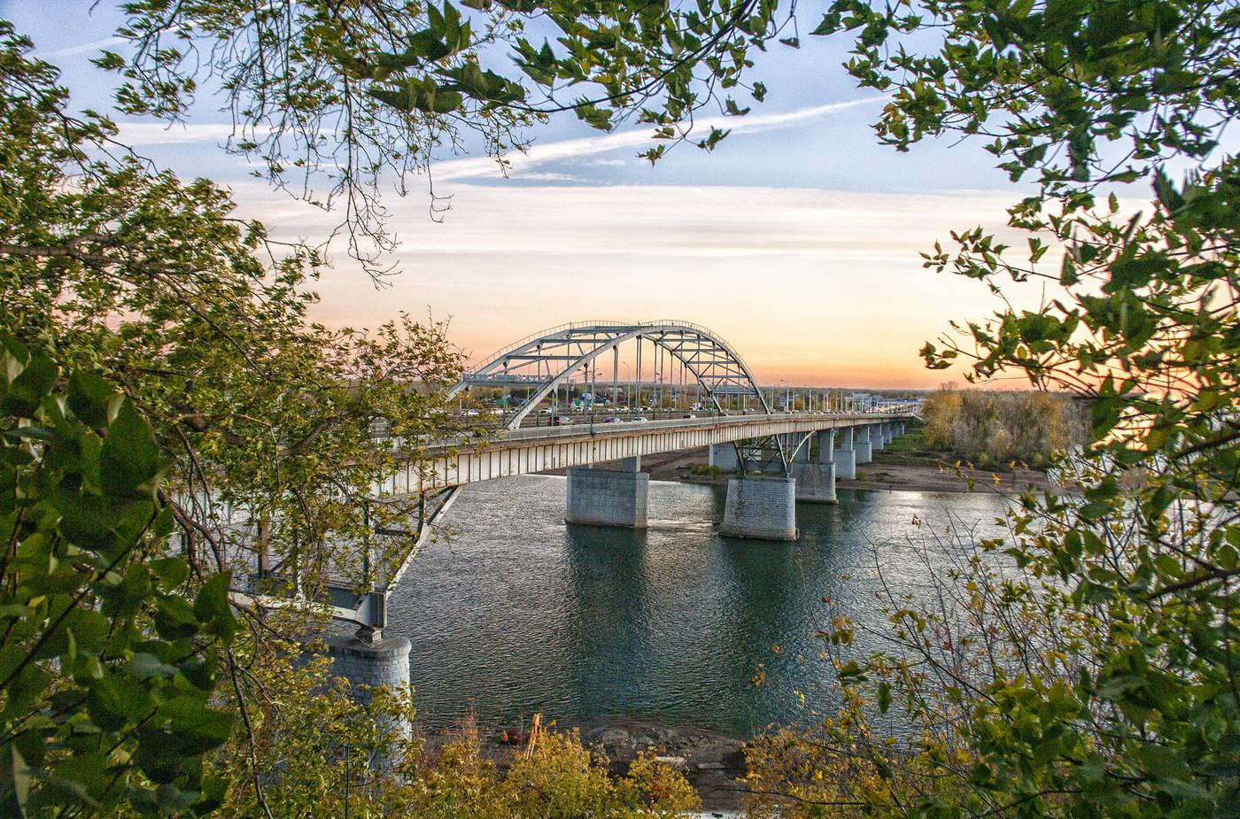 Уфа фото моста через белую