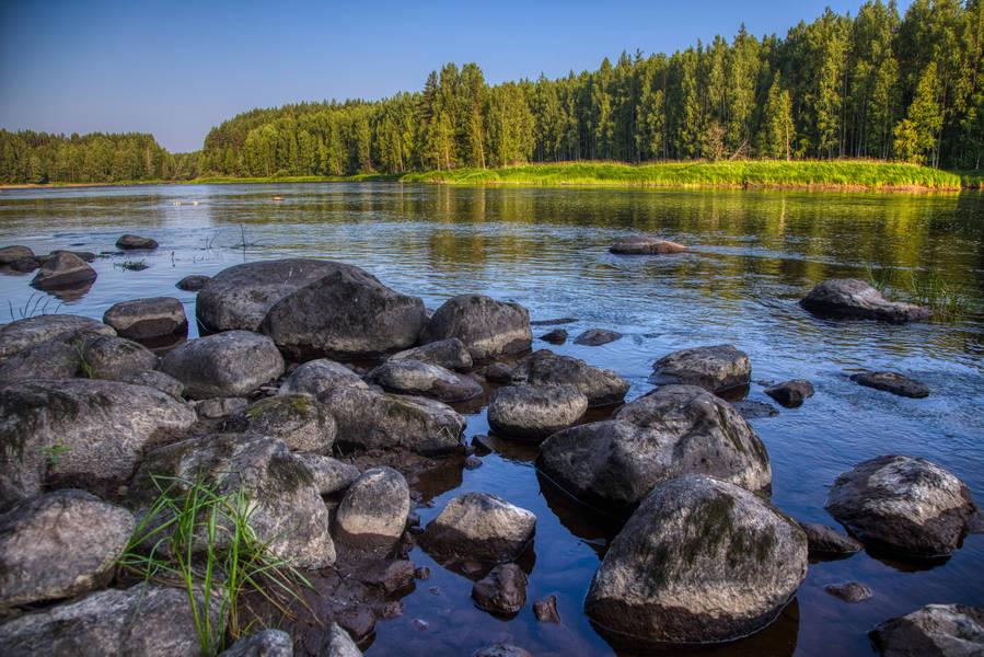 реки карелии картинки они разное
