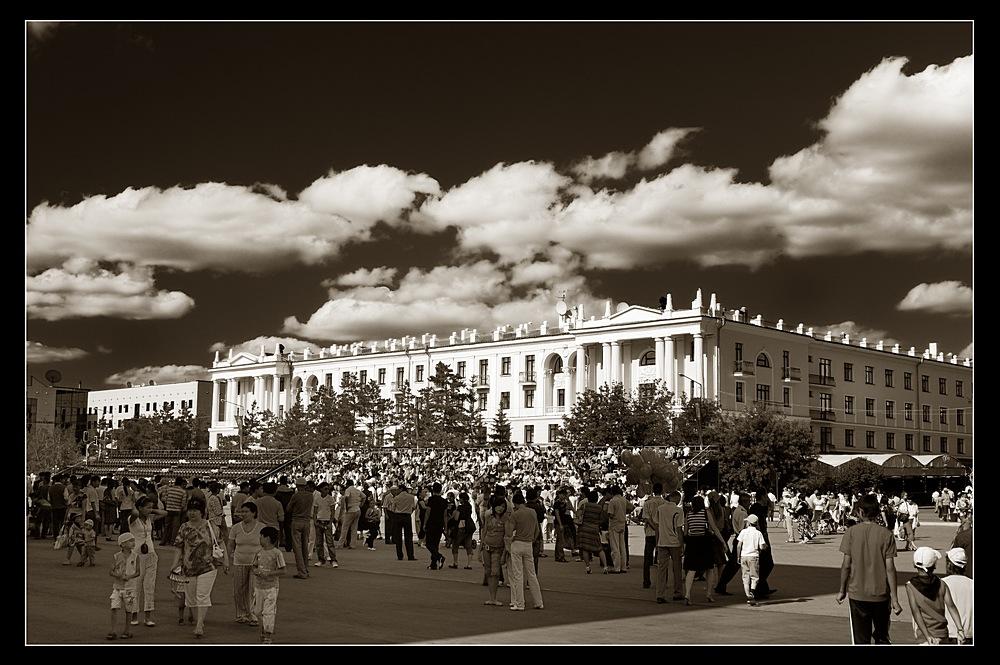 фотографии старого целинограда