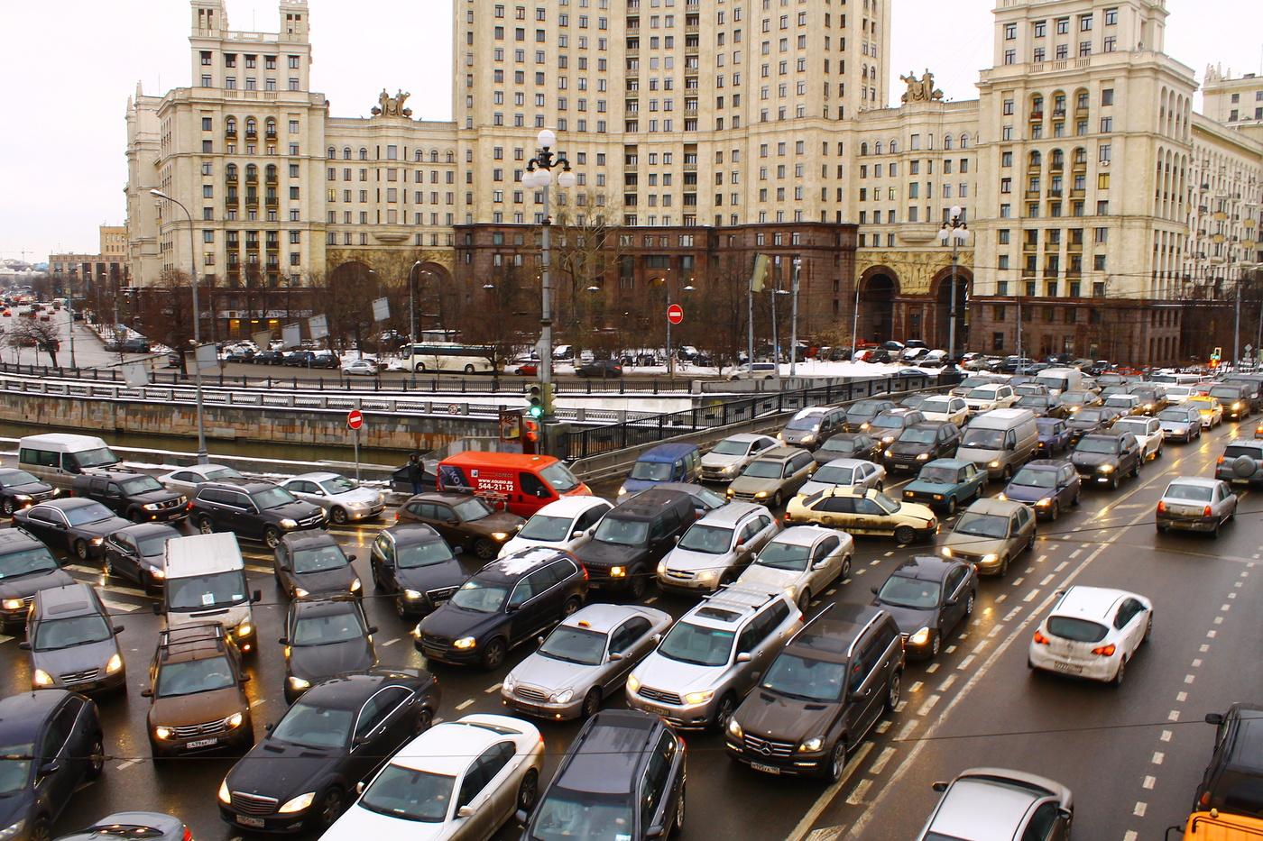 московские пробки фото деньги киевские власти