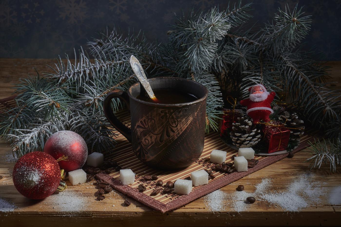 техники картинки доброе утро новогодние натюрморты них