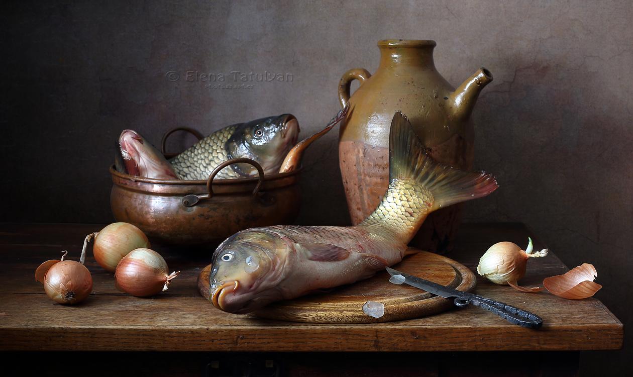 картинки натюрморт с рыбой санаторие одно