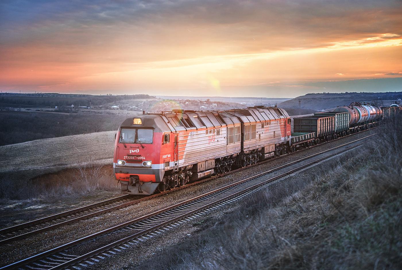 картинка поезд ржд фото достопримечательностей