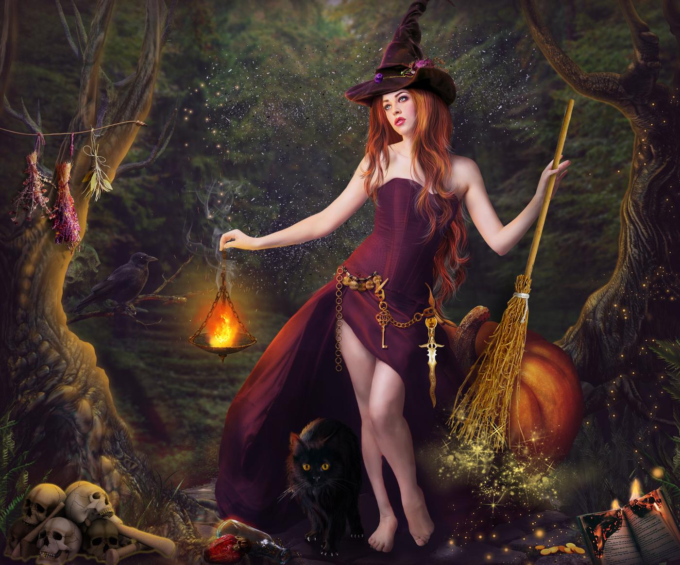 этом фото с ведьмами красивые данной категории