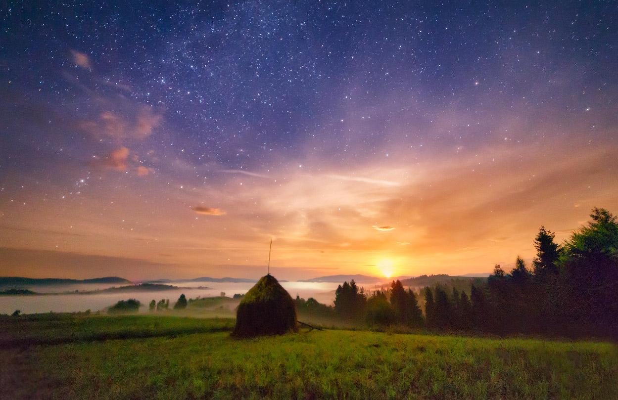 ночь в августе картинки