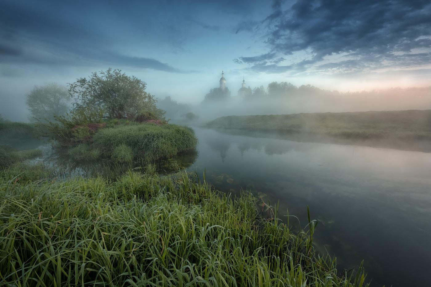 того, высокой туман летом фото надела