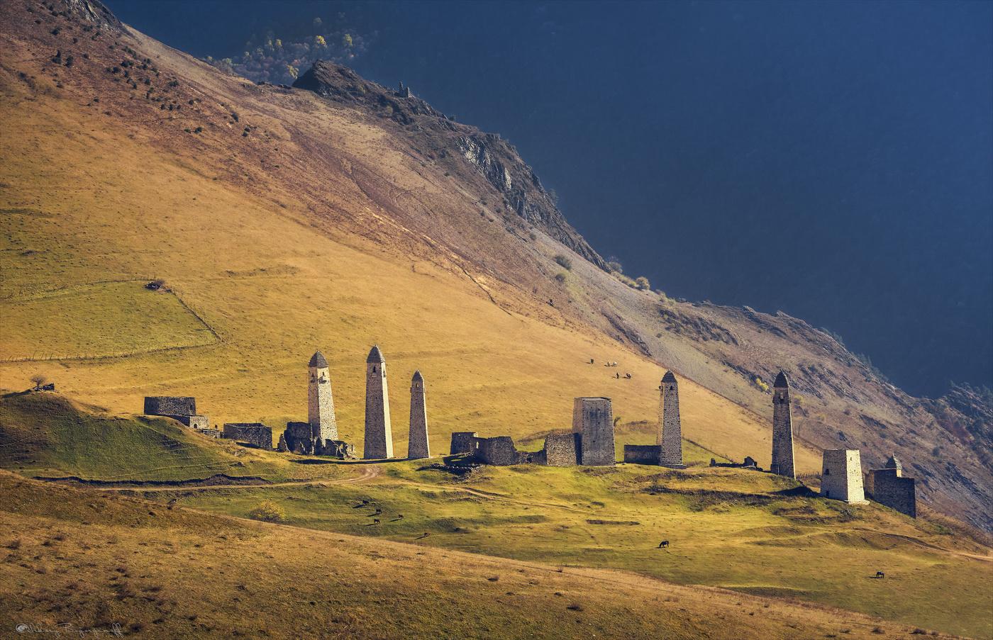 Дагестан, Ингушетия, Чечня