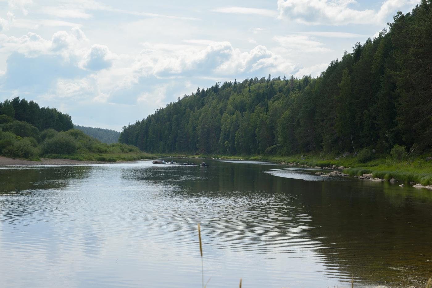 старый фото реки чусовая в деревне них среди